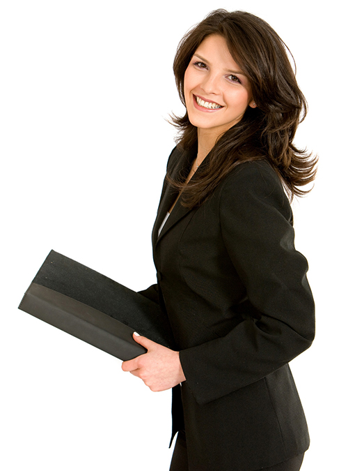 Business-woman-standing